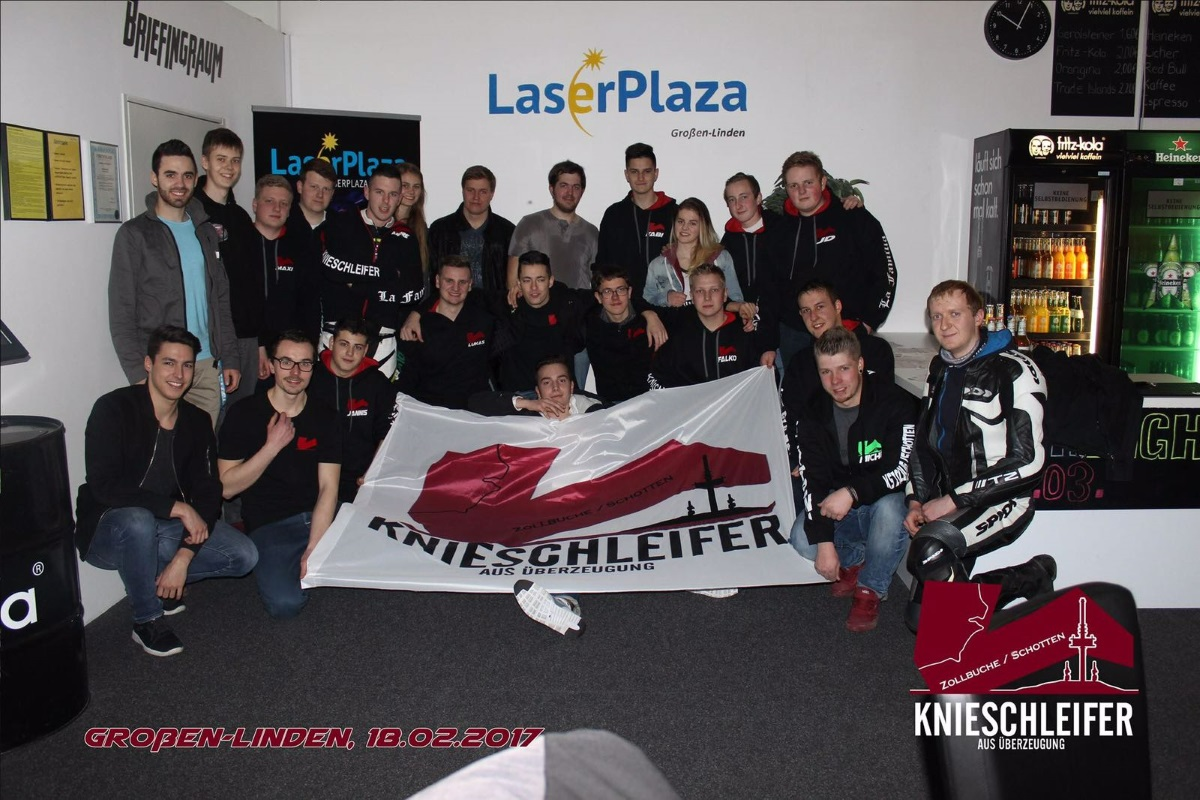 lasertag by laserplaza knieschleifer