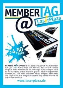 Membertag - Lasertag LaserPlaza
