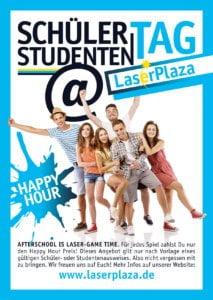 Schüler- und Studententag - Lasertag LaserPlaza