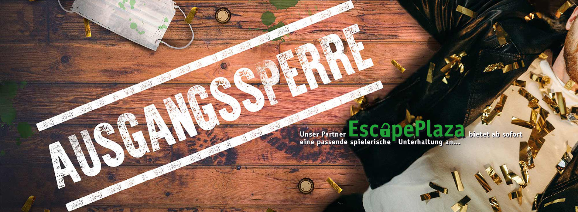 Ausgangssperre - Online Escape Room